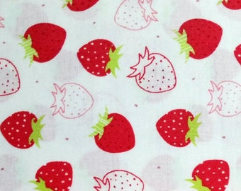 Strawberry Quilt Fabric