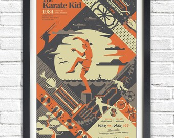 The Karate Kid - 1984 - 19x13 Poster