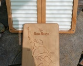 BOW RIVER MAP Fly Box - H...