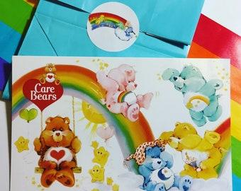 POSTCARDS Care Bears (Blank back side) Set of 10 *1980s cartoon
