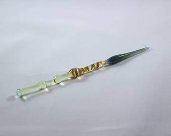 Handmade Glass Sublime Swirl Dabber / Pick