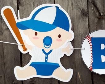 Baseball Baby Shower Banner - Baseball Banner - Baseball Nursery Banner