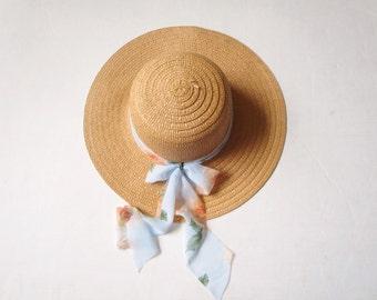 Sun hat, beach hat, a wide-brimmed straw hat, straw hat, summer hat, women hats, ladies straw hats