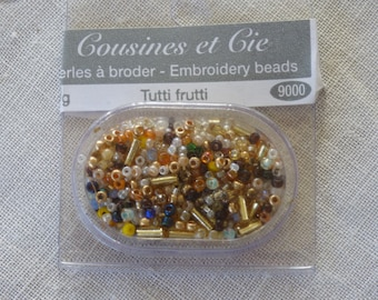 Beads embroidery cousins and Tutti Frutti 9000 companies