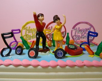 Retro Dancers Cake Kit