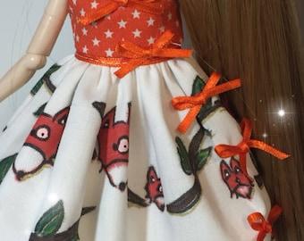 Fox dress stock pullip/blythe and similar