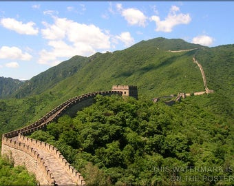 Poster, Many Sizes Available; Great Wall Of China Ming Dynasty