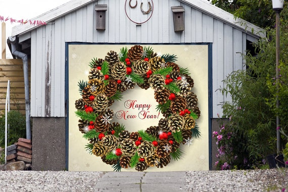 Items similar to Happy New Year Sign - Christmas Garage ...