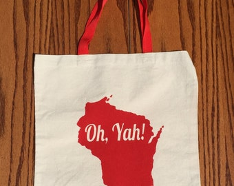 Wisconsin Oh, Yah! Tote
