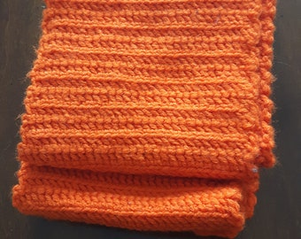 Basic Orange Scarf