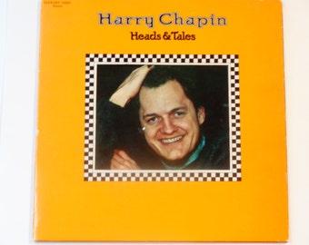"""Harry Chapin - Köpfe & Märchen - """"Taxi"""" - Folk-Rock - Original gestanzte Elektra Records 1972 - Jahrgang Vinyl LP Schallplatte"""