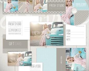 Photography Marketing Templates: Fresh Studio - Marketing Set & Standard Business Forms