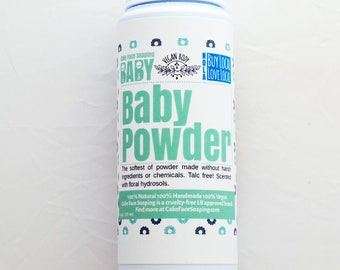 Soft, natural baby powder