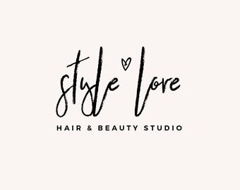 Premade Logo - Logo Design - Feminine Logo - Business Logo - Blogger Logo - Brand Design - Fashion Logo - Blog Header