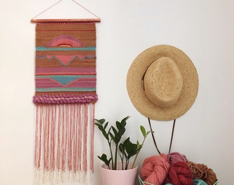 DREAMIN' woven wall hanging, wall hanging, weaving, tapestry, woven wall art, home decor