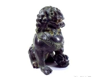 Foo Dog, Foo Lion, China, Old, China, Antique aristocratic Lion Statue