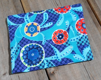 Reusable Snack Bag - Single Bag in Blue Swirl