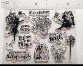 Unbranded fairy stamps