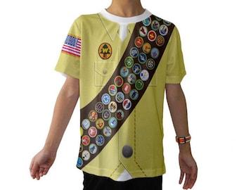 Kid's Russell Up Wilderness Explorer Inspired Shirt