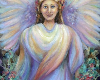 Guardian Angel-Angel Art Print of 'Guardian Angel'