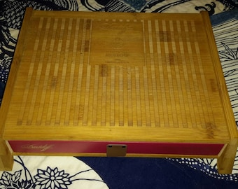 Cigar Box Year of the Monkey Special Edition Bamboo Asian Collectible Find by IndustrialPlanet