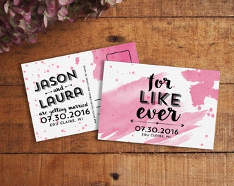 Save The Date Save The Date Postcard Printable Save The - Funny save the date templates