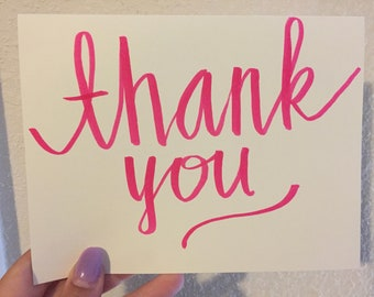 Thank You Card with Addressed Envelope