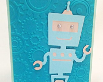 Another Adorable Robot Card!