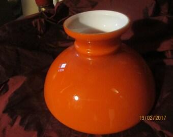 Retro orange light shade