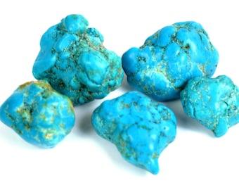 88.35 Ct. Natural Arizona Mine Kingman Turquoise Charming Gemstone Rough Lot