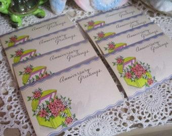 Vintage Florist Cards-Unused-Dozen