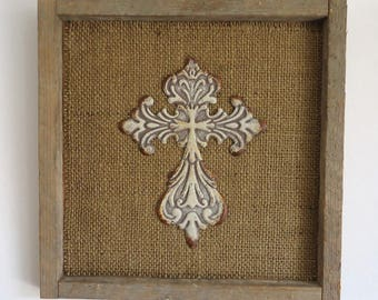 decorative cross wall decor, Christian, Religious gift for home