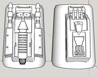 Sabine Wren Gauntlets from Star Wars Season 3 Rebels Digital Print Files