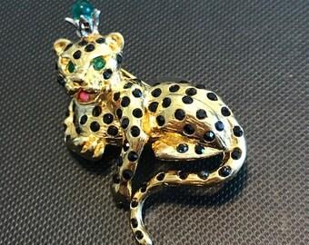 Graziano Leopard Pin
