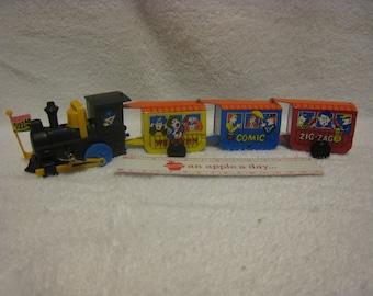 Vintage Tin toy train.