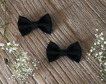 TERESA Hair Ribbons COMBO-Mini//Black