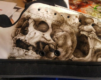 """Driven By Design Shoe Company-The """"Archaic"""" Skull Shoes"""