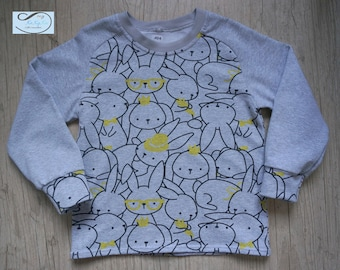 T-shirt / top kids long sleeve, lightweight pullover 3/4 years