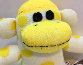 Manny the Baby Friendly Sock Monkey