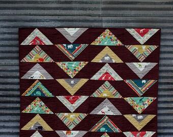 SALE!!! Koa Avenue Quilt Pattern - PAPER COPY