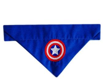Captain America Avengers Marvel Dog And Cat Bandana Neckerchief Superhero