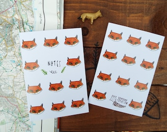 Fox Note Books