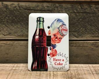 Sprite Boy Coca-Cola Single Switch Plate Cover