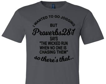 Running Is For The Wicked!