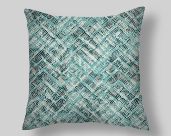 Blue Pillow Covers