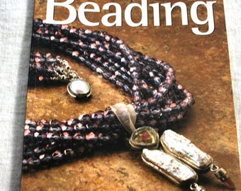 Chic Easy Beading by Alice Korach Paperback Beading and Jewelry Book from BeadButton Magazine, Jewelry Making Book, How to Make Jewelry Book