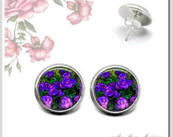 Stud Earrings 5 Version colors for election Spring 1 OSH-012-374