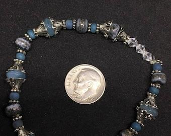 Blue topaz bracelet