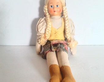 1950s Cl8th Doll from Poland