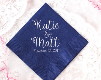Bridal Shower, Personalized Napkins, Custom Napkins, Event Napkins, Wedding Napkins, Party Napkins, Birthday Napkins, Rehearsal Dinner